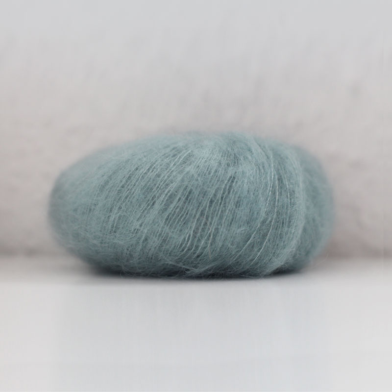 Maschenprobe - Essentials Super Kid Mohair Loves Silk - Montagsmaschen